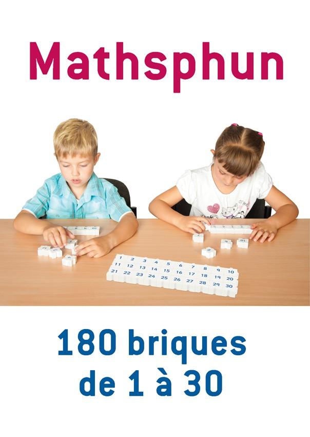 Mathsphun, 180 briques de 1 à 30
