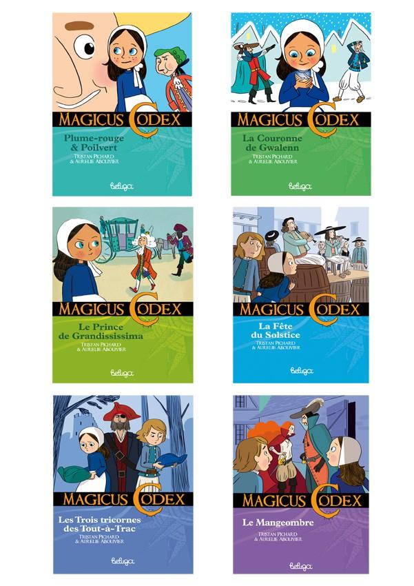 Magicus Codex, série de 6 romans d'aventure
