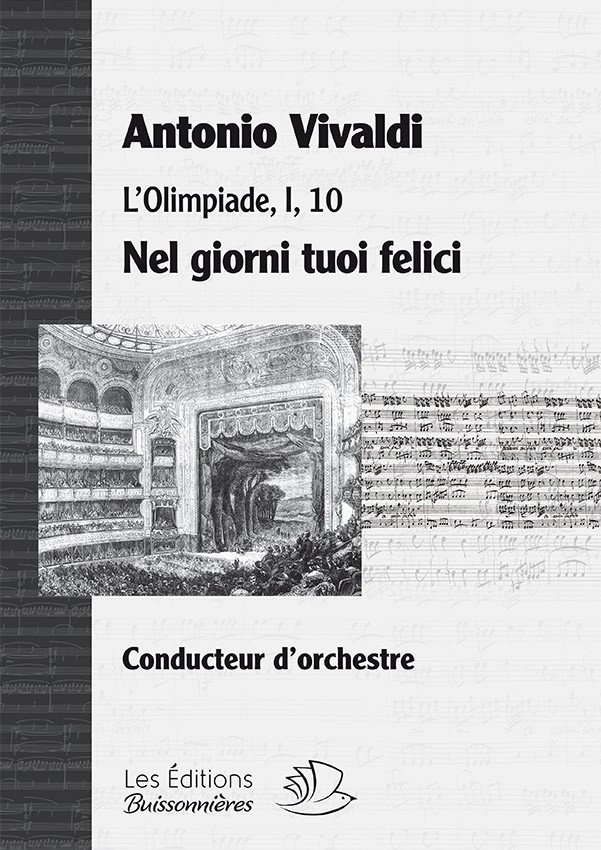 Vivaldi : DUO  - Ne giorni tuoi felici (Vivaldi, L'Olimpiade) chant & orchestre