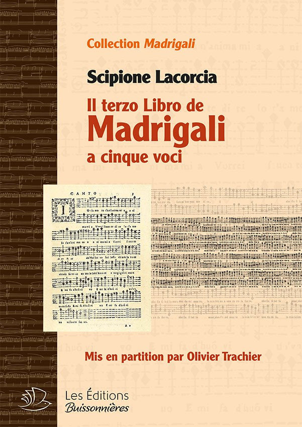 Il terzo libro de Madrigali a cinque voci (Scipione Lacorcia)