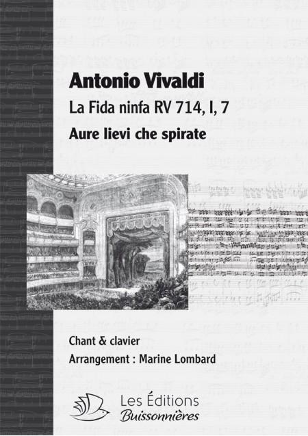 Vivaldi : Aure lievi, che spirate (La fida ninfa), chant et clavier (piano)