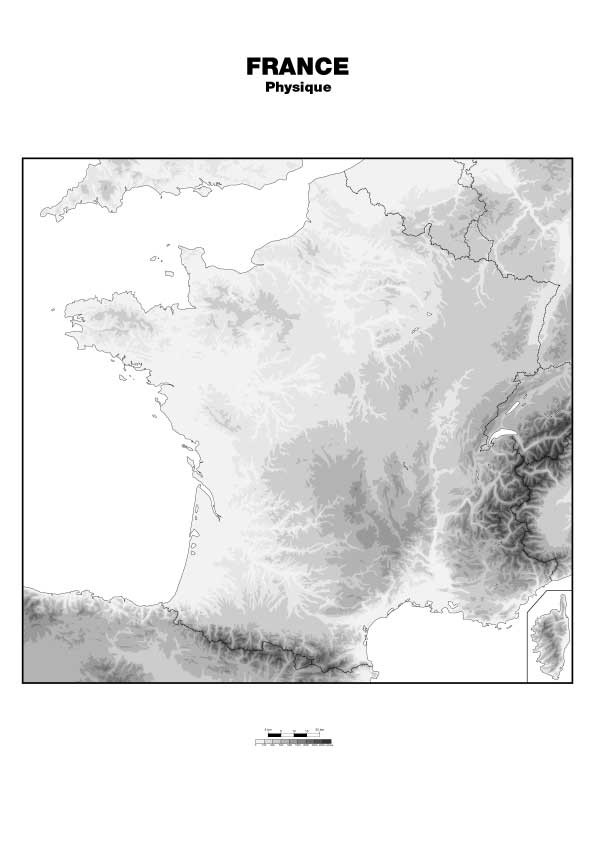 Cartes de France + 1 département