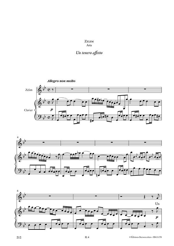 Un tenero affeto, Vivaldi (La verita in cimento, RV 739), chant et clavier (piano)