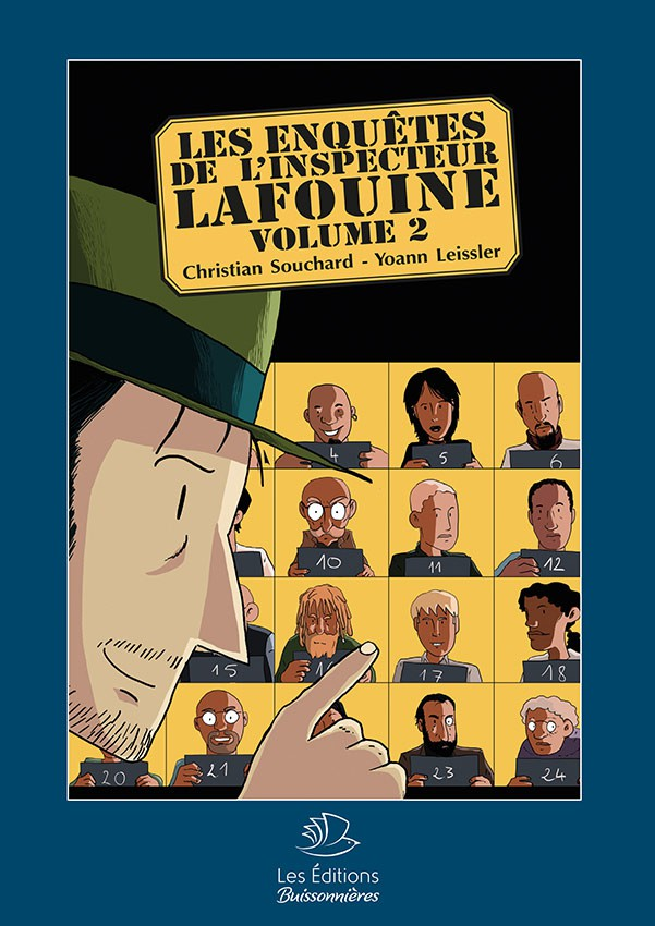 BD Les Enquêtes de l'Inspecteur Lafouine Volume 2
