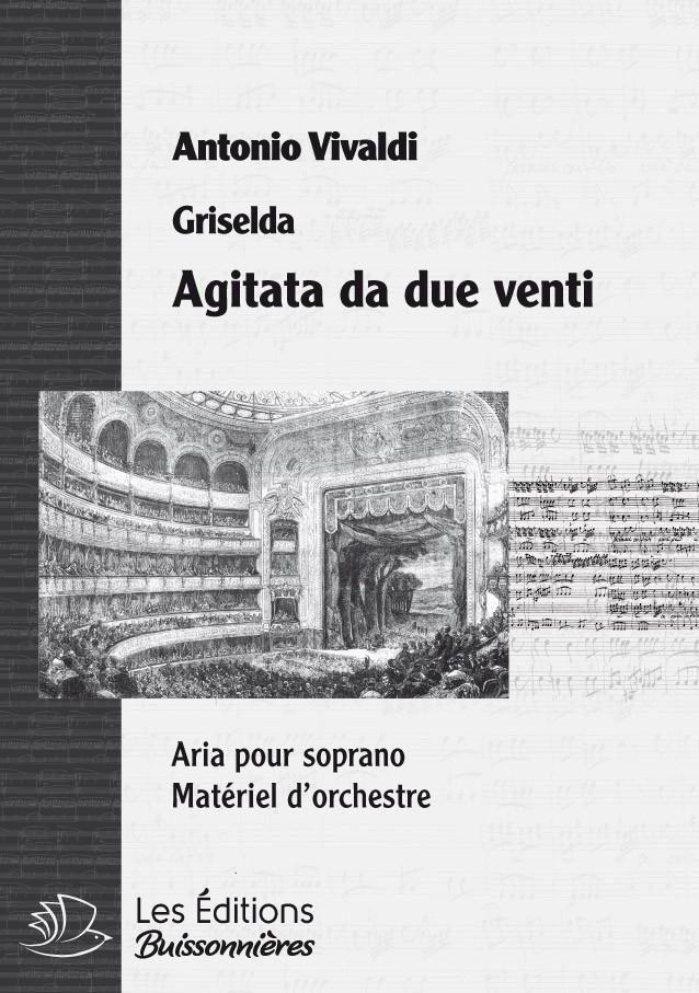 Vivaldi : Agitata da due venti, chant et orchestre