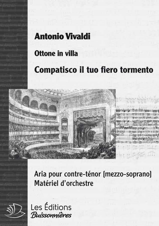 Vivaldi : Compatisco il tuo fiero tormento, chant et orchestre