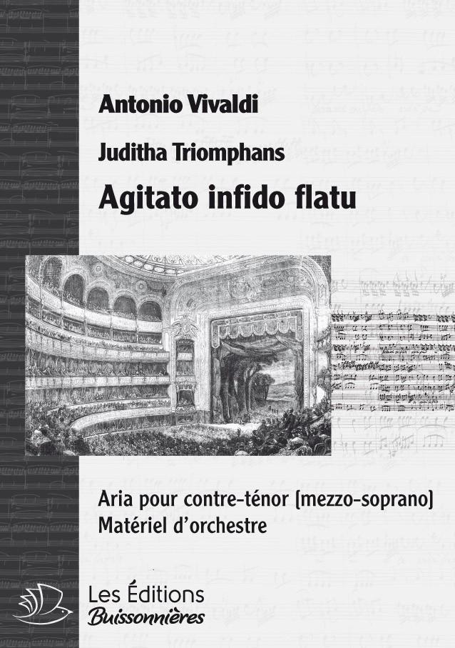 Vivaldi : Agitato infido flatu (Judith Triomphans), chant et orchestre