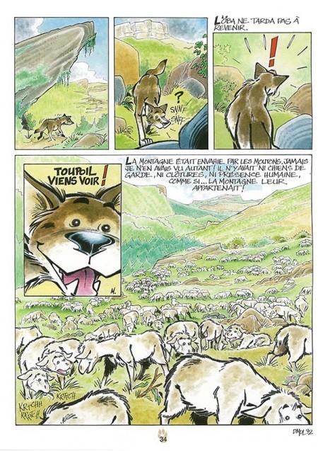 BD Toupoil De mémoire de loup