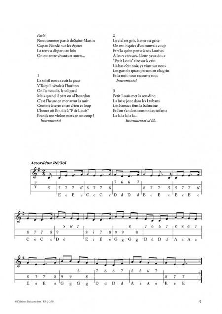 Caboulot, guinguette marine avec CD (chants de marins)