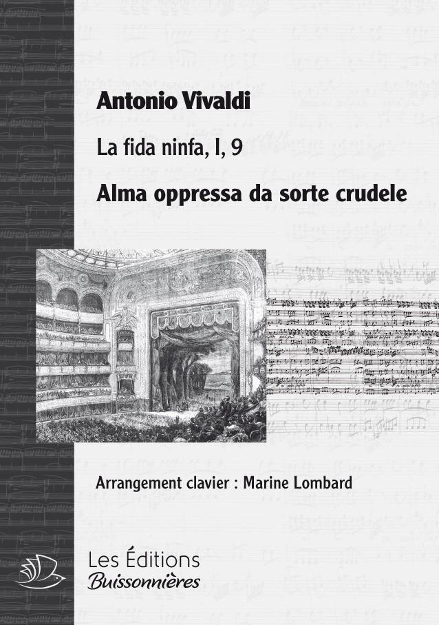 Vivaldi : Alma oppressa da sorte crudele, chant et piano