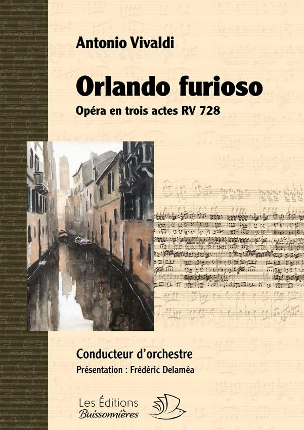 Orlando furioso (opéra de Antonio Vivaldi RV 728) matériel d'orchestre
