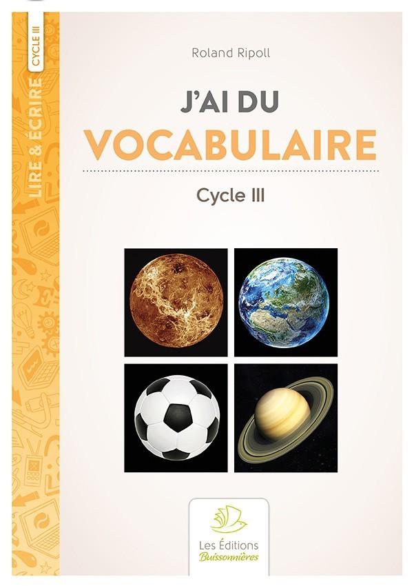 J'ai du vocabulaire (Roland Ripoll)