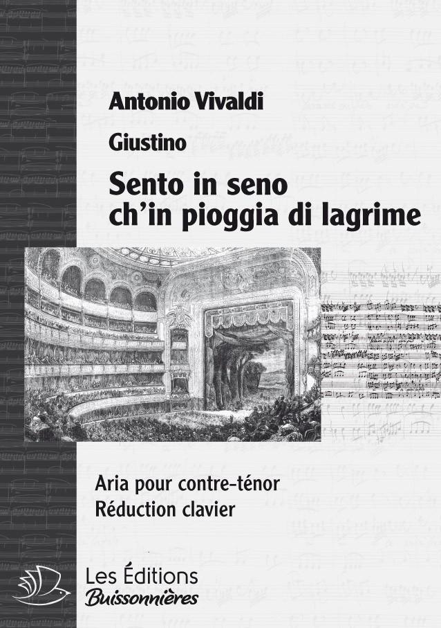 Antonio Vivaldi : arias pour contre-ténor, réduction clavier
