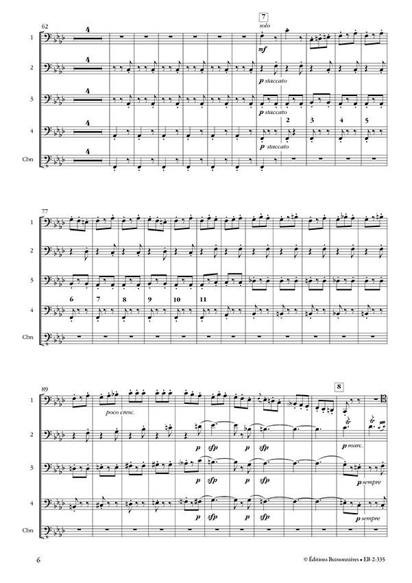 L'apprenti sorcier (Paul Dukas) pour 4 bassons et contrebasson