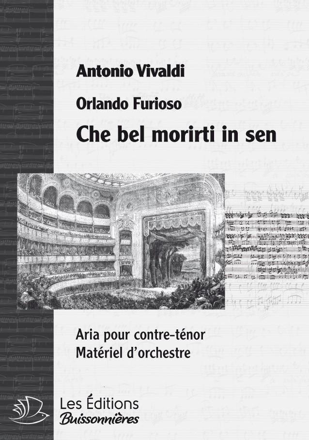 Vivaldi : che bel morirti in sen (Orlando furioso), chant & orchestre