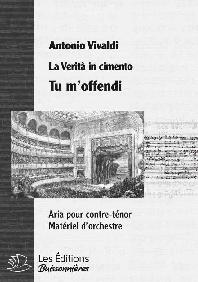Vivaldi : Tu m'offendi (Orlando furioso), conducteur & matériel d'orchestre