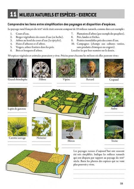 Géographie et écologie par l'exemple