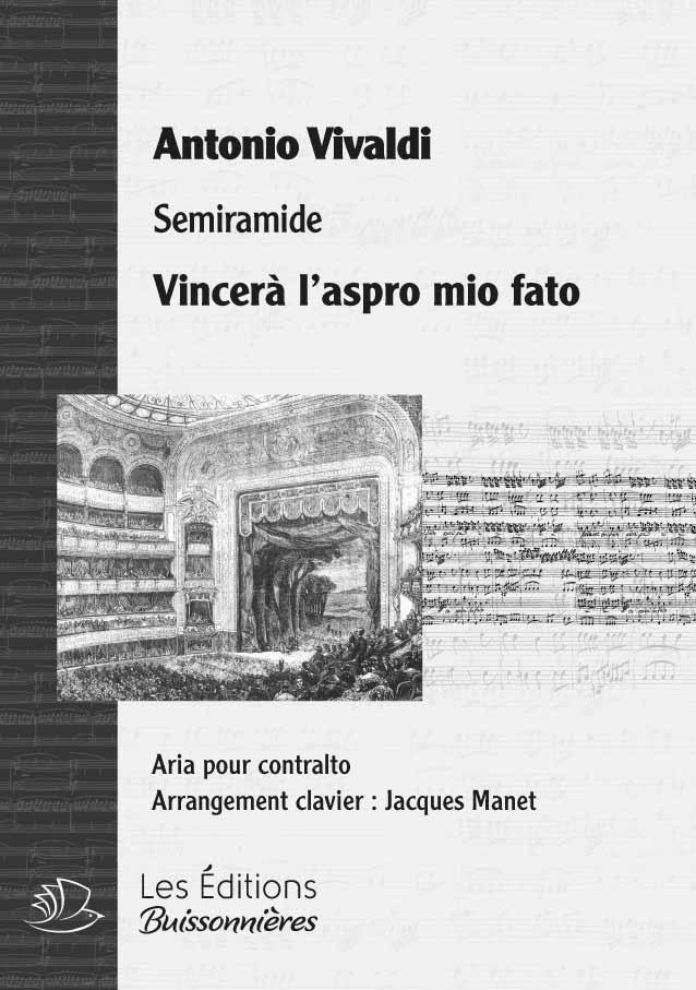 Vivaldi : Vincerà l'aspro mio fato (Semiramide), chant et orchestre