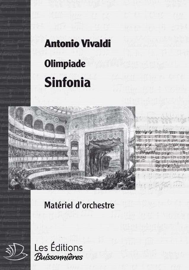 Vivaldi : Olimpiade, sinfonia