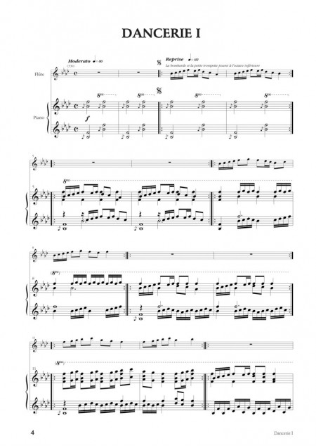 Desbonnet Fêtes médiévales cinq danceries clarinette et piano