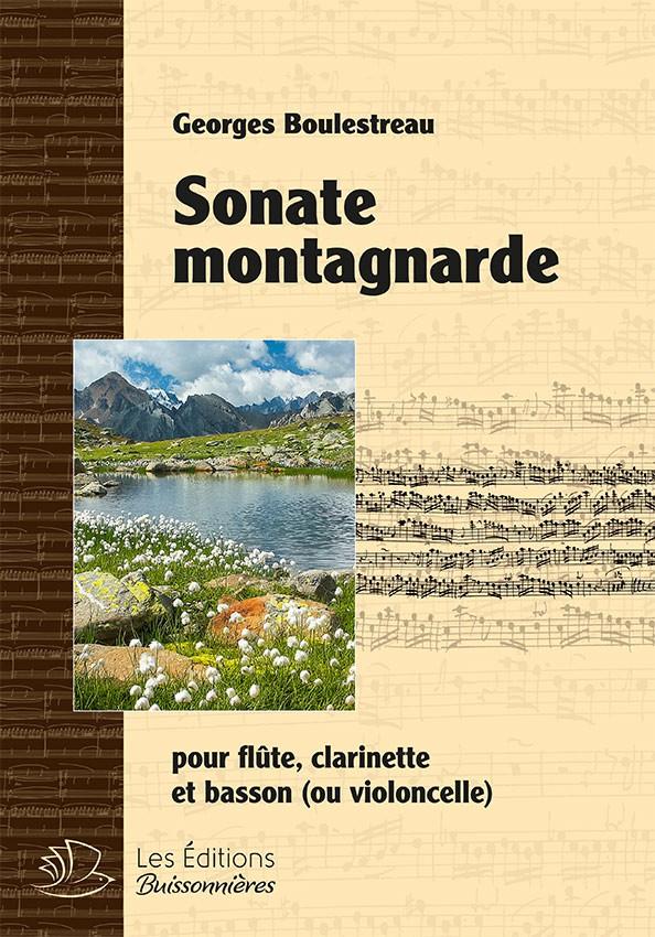 Sonate montagnarde pour flûte, clarinette & violoncelle (Georges Boulestreau)