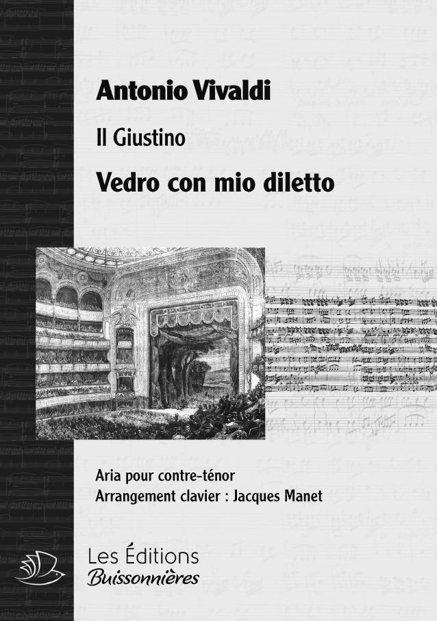 Vivaldi : Vedro con mio diletto - chant et clavier