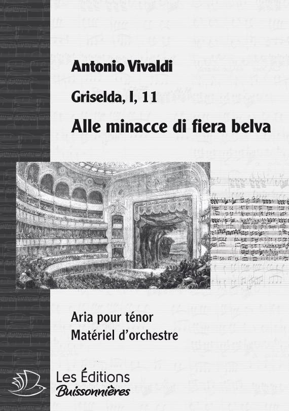 Vivaldi : Alle minacce di fiera belva, chant et orchestre