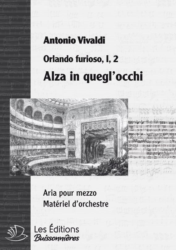 Vivaldi : Alza in quegl'occhi (Orlando furioso), chant et orchestre