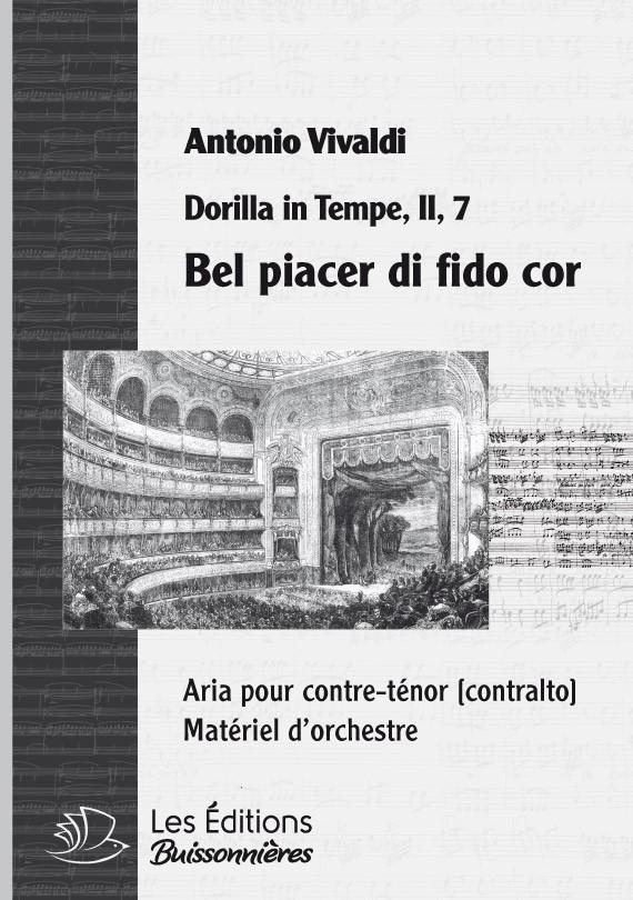 Händel : Bel piacer di fido cor (Dorilla in Tempe), chant et orchestre