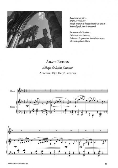 Mélodies de Bretagne et d'ailleurs, Hervé Lesvenan