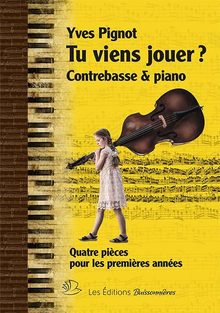 Tu viens jouer ? Contrebasse et piano