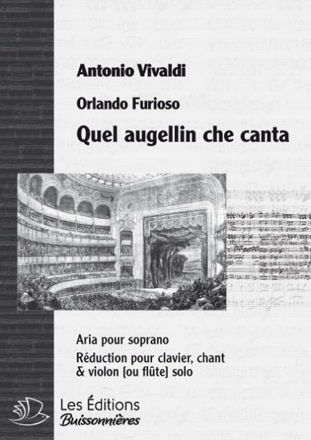 Vivaldi : Quel augellin (la Sylvia), chant et clavier