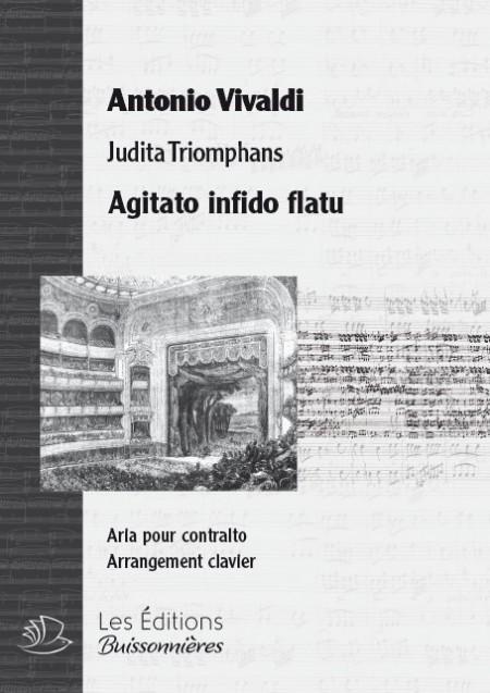 Vivaldi : Agitato infido flatu (Juditha Triomphans), chant et clavier