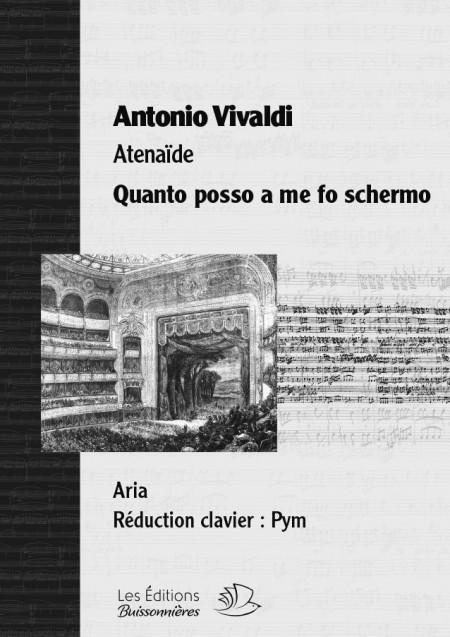 Vivaldi : QUANTO POSSO A ME FO SCHERMO, chant et clavier