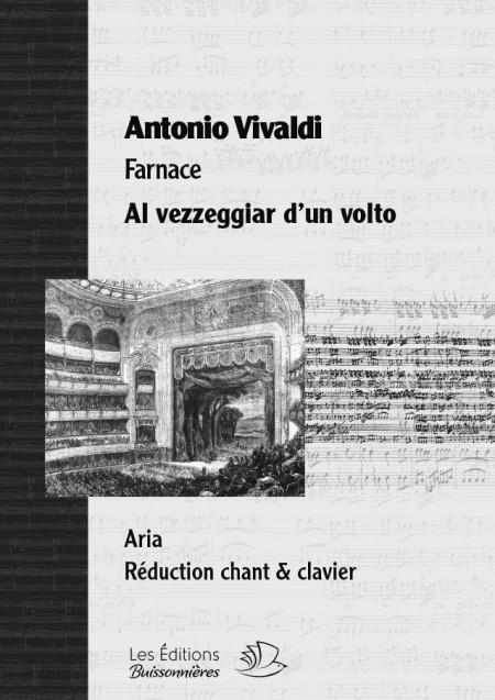 Vivaldi : Al vezzeggiar d'un volto, chant et clavier