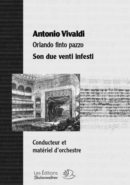 Vivaldi : Son due venti infesti, chant et orchestre
