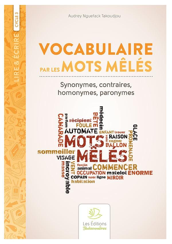 Vocabulaire par les mots mêlés