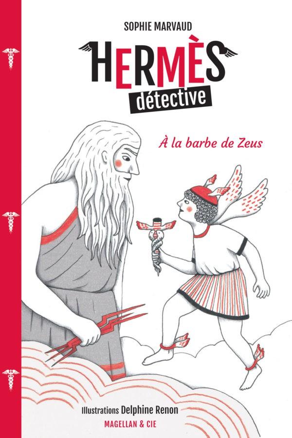 Hermès détective, à la barbe de Zeus