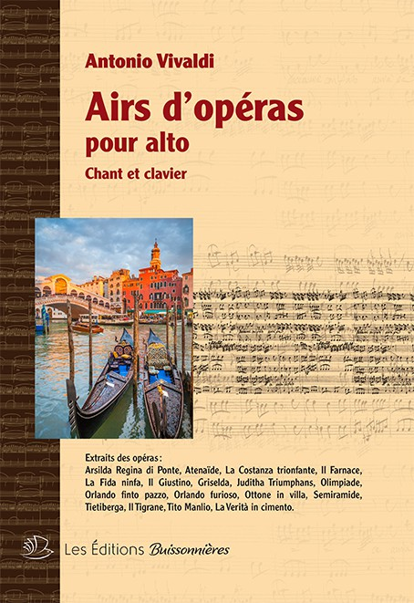 Vivaldi : Airs d'opéra pour alto