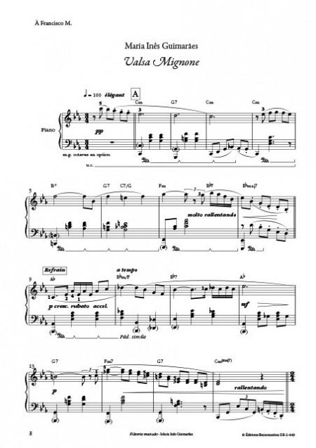M.I.Guimaraes : Flâneries musicales