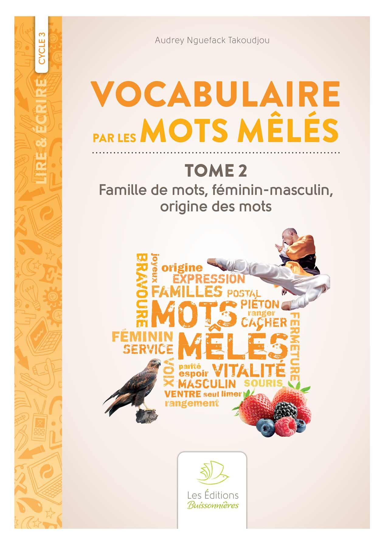 Vocabulaire par les mots mêlés2