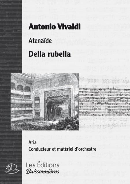 Vivaldi : DELLA RUBELLA, chant et orchestre