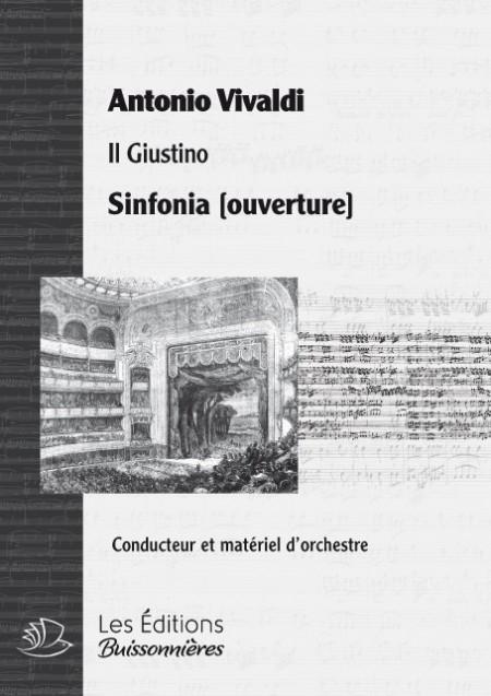 Vivaldi : Il Giustino, sinfonia