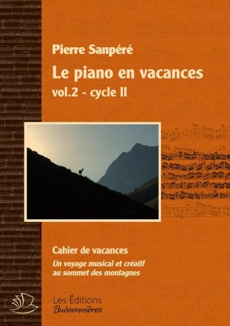 Le piano en vacances, Vol.2