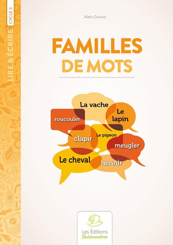 Familles de mots