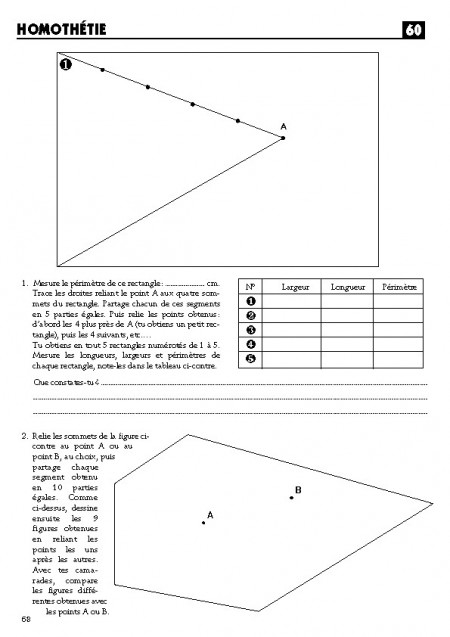 Géométrie au cycle 3