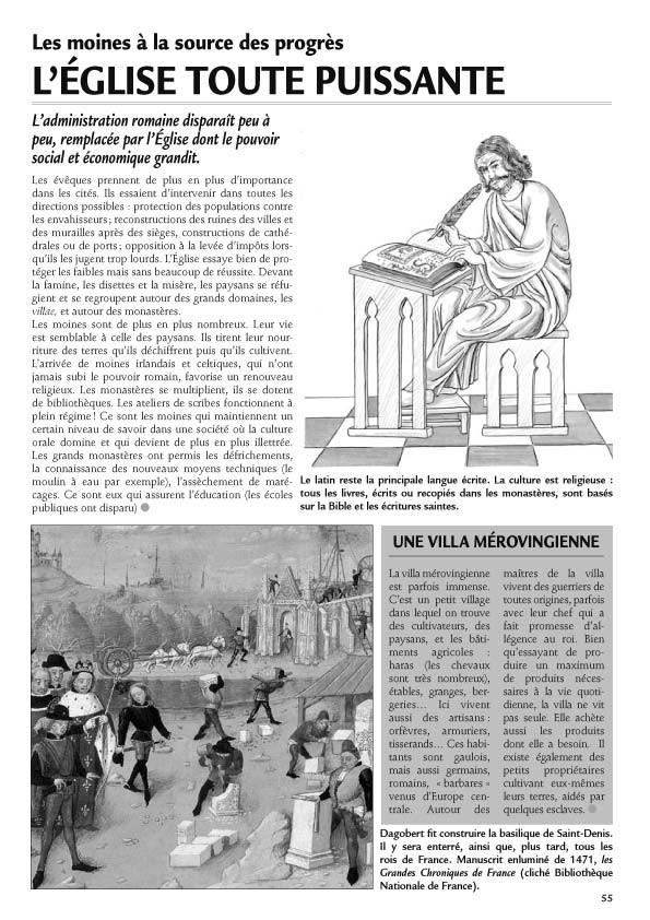La Gazette de la Terre - Histoire au cycle 3, volume 1.