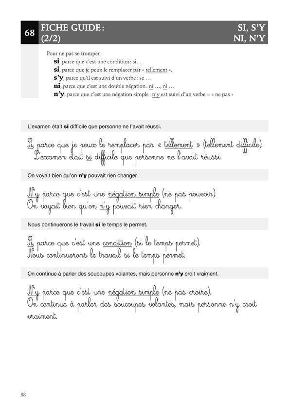 Apprendre l'orthographe - Les Homophones Grammaticaux