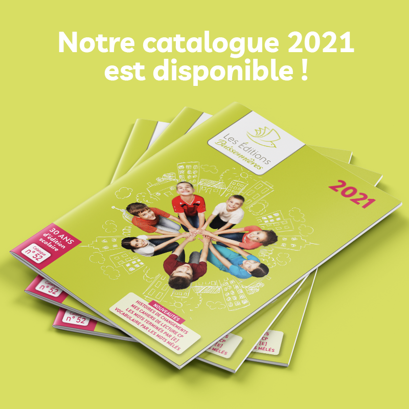 Catalogue Éditions Buissonnières 2021