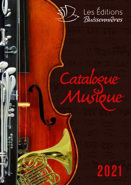 Catalogue Musique 2021